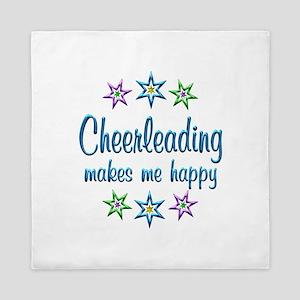 Cheerleading Happy Queen Duvet