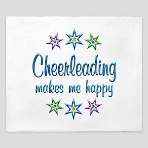 Cheerleading Happy King Duvet