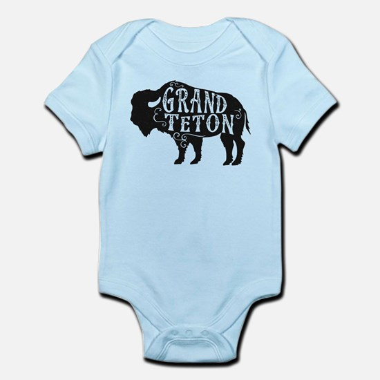 Grand Teton Buffalo Infant Bodysuit
