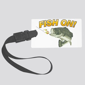 Fish On Luggage Tag