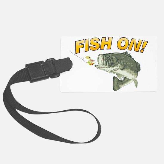 Fish On Luggage Tag