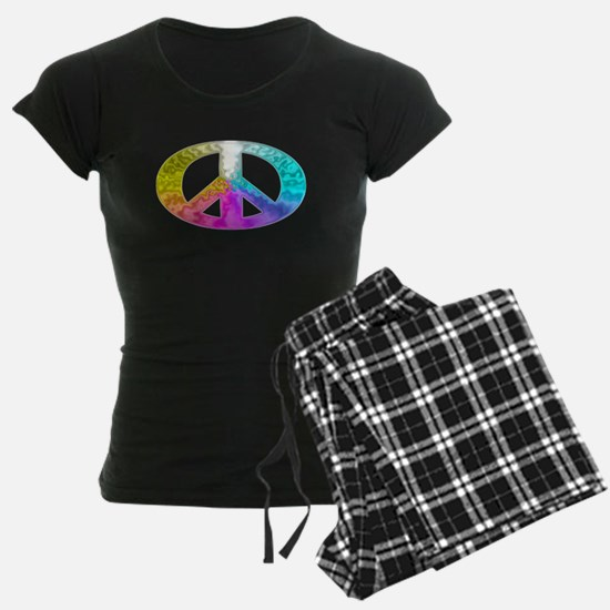 paece-symbol-glass-rainbow Pajamas