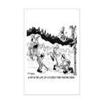 Fire Cartoon 3603 Mini Poster Print