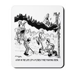 Fire Cartoon 3603 Mousepad