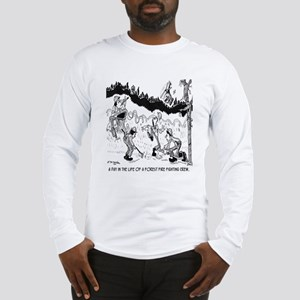 Fire Cartoon 3603 Long Sleeve T-Shirt