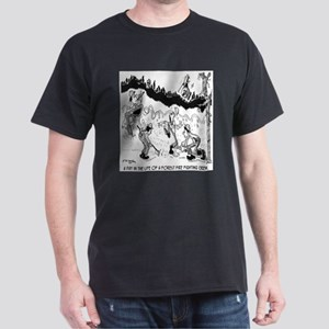 Fire Cartoon 3603 Dark T-Shirt