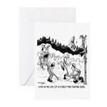Fire Cartoon 3603 Greeting Cards (Pk of 20)