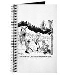 Fire Cartoon 3603 Journal