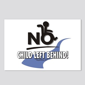 No Child Left Behind! Postcards (Package of 8)