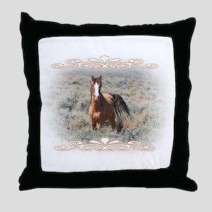Wild And Proud Throw Pillow