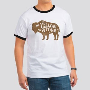 Yellowstone Buffalo Ringer T