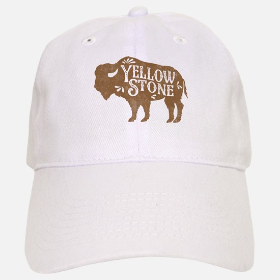 Yellowstone Buffalo Baseball Baseball Cap