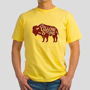 Yellowstone Buffalo Yellow T-Shirt
