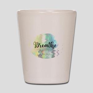 Breathe Shot Glass