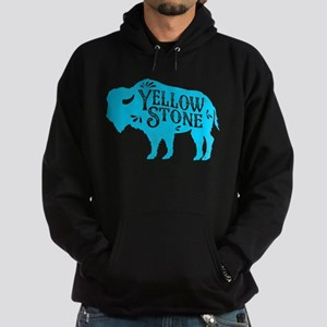 Yellowstone Buffalo Hoodie (dark)