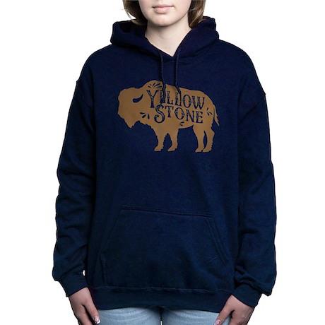 Yellowstone Buffalo Women's Hooded Sweatshirt