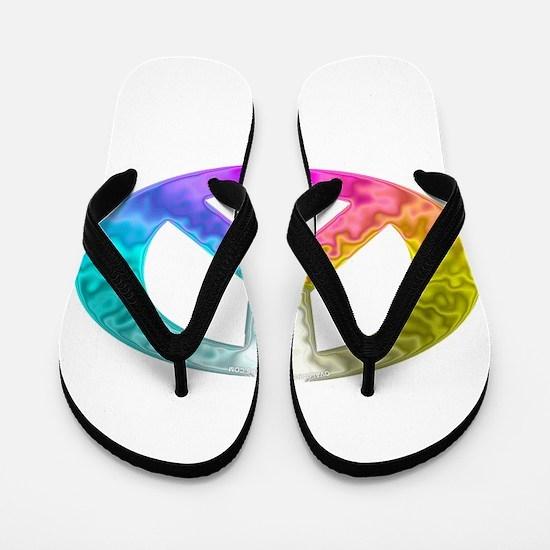 paece-symbol-glass-rainbow.png Flip Flops