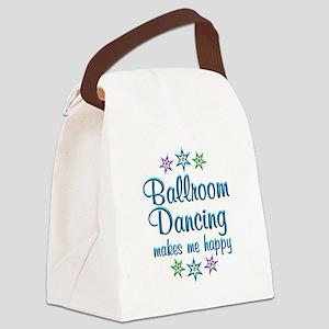 Ballroom Happy Canvas Lunch Bag