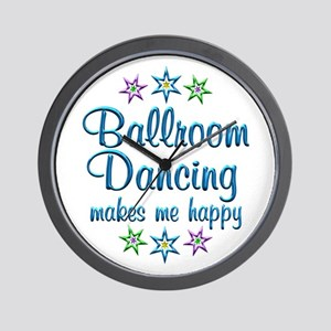 Ballroom Happy Wall Clock