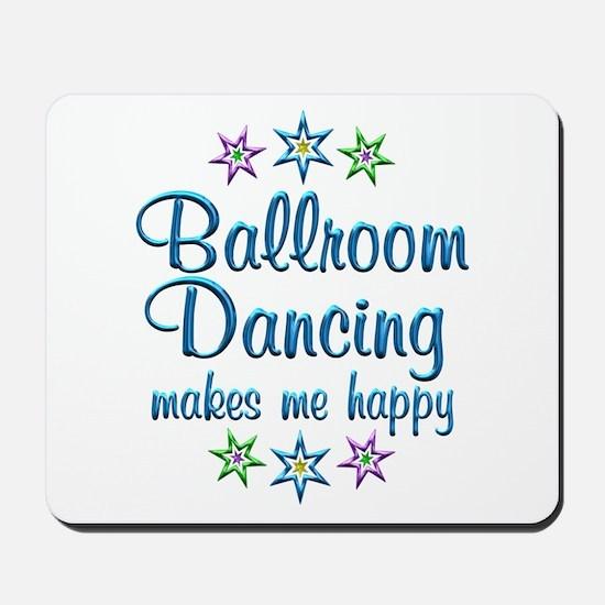 Ballroom Happy Mousepad