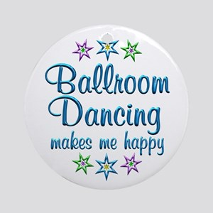 Ballroom Happy Ornament (Round)