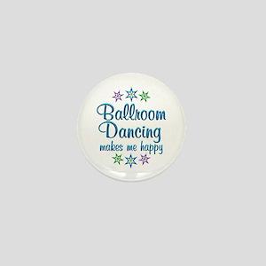 Ballroom Happy Mini Button