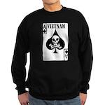 VIETNAM DEATH CARD Sweatshirt