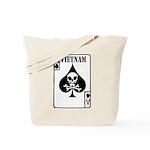 VIETNAM DEATH CARD Tote Bag