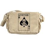 VIETNAM DEATH CARD Messenger Bag
