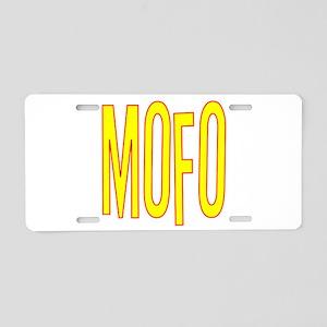 MOFO Aluminum License Plate