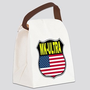 PROJECT MK ULTRA Canvas Lunch Bag