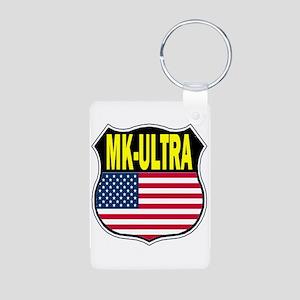 PROJECT MK ULTRA Aluminum Photo Keychain