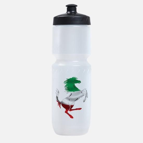 Italian Stallion Italy Flag Sports Bottle