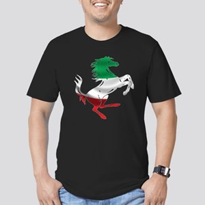 Italian Stallion Italy Men's Fitted T-Shirt (dark)