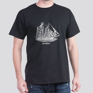 Sailing Art Dark T-Shirt