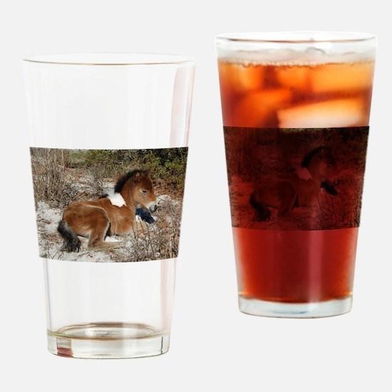 Trots Alot, Wild Horse Drinking Glass