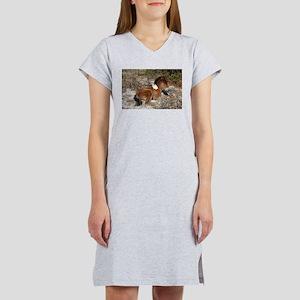 Trots Alot, Wild Horse Women's Nightshirt