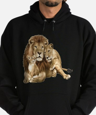 Lion And Cubs Hoodie
