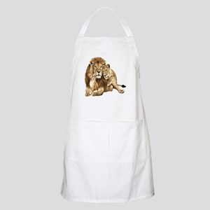Lion And Cubs Apron