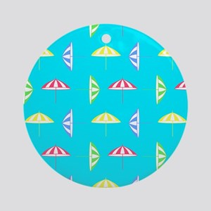 Parasol pattern Ornament (Round)
