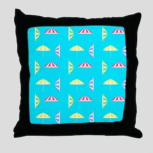 Parasol pattern Throw Pillow