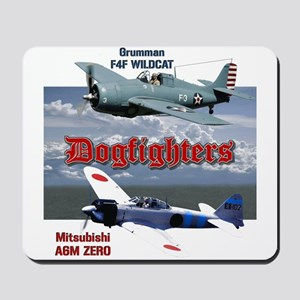 Dogfighters: F4F vs A6M Mousepad