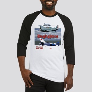 Dogfighters: F4F vs A6M Baseball Jersey