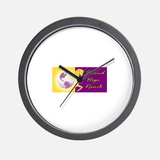 Cute Abused horses Wall Clock