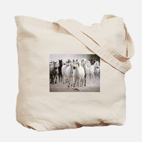Funny Abused horse Tote Bag