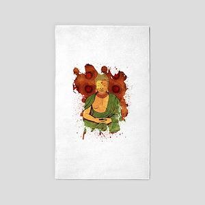 Buddha 3'x5' Area Rug
