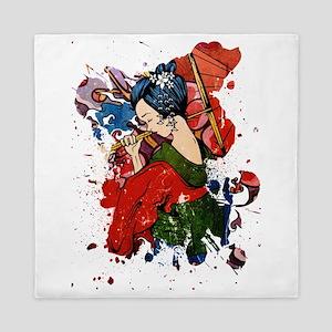 Geisha Queen Duvet