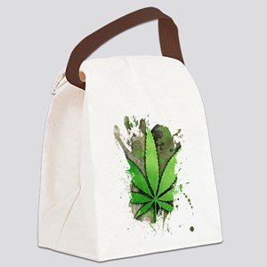 Pot Leaf 2 Canvas Lunch Bag