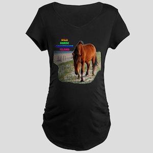 Mystic Beauty Maternity Dark T-Shirt