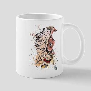 White Tiger Mugs